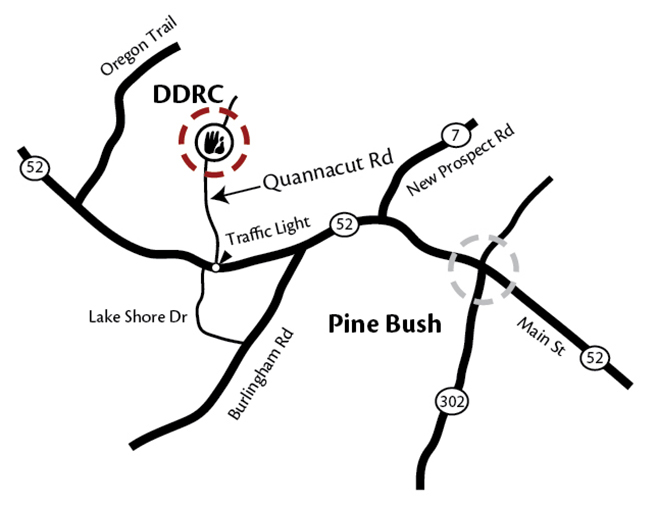 DDRC local map